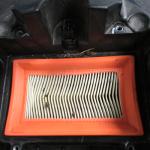Kontrola stavu vzduchového filtru