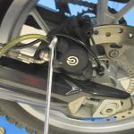 Výměna brzdové kapaliny zadní brzdy