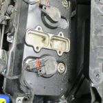 Netěsnící víko motoru