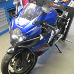 Diagnostika rámu motocyklu Suzuki