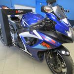 Měření rámu motocyklu Suzuki