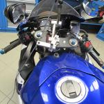 Diagnostika rámu motocyklu