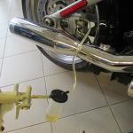 HD - výměna brzdové kapaliny zadní brzdy