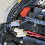 Diagnostika motocyklu Harley Davidson - detail