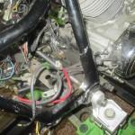 Uchycení rámu motocyklu - upevnění na rovnací stolici MOTOJIG