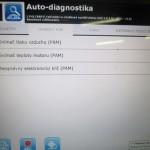 Diagnostika na sneznem skutru a nastaveni